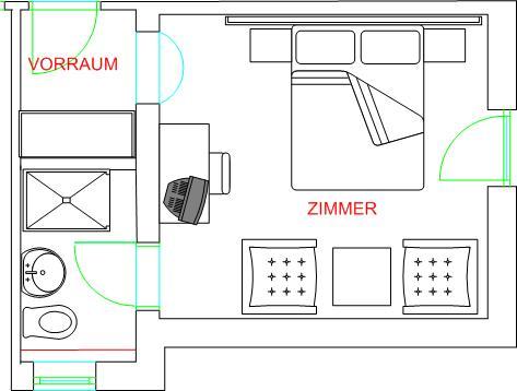 Zimmer14 Zimmerplann Sonnleitn Tirol Haberberg