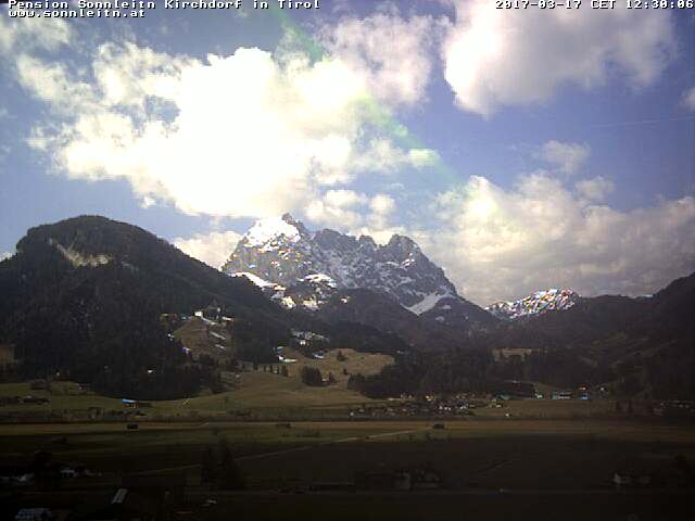 Webcam Webcam Kirchdorf in Tirol - Pension Sonnleit'n